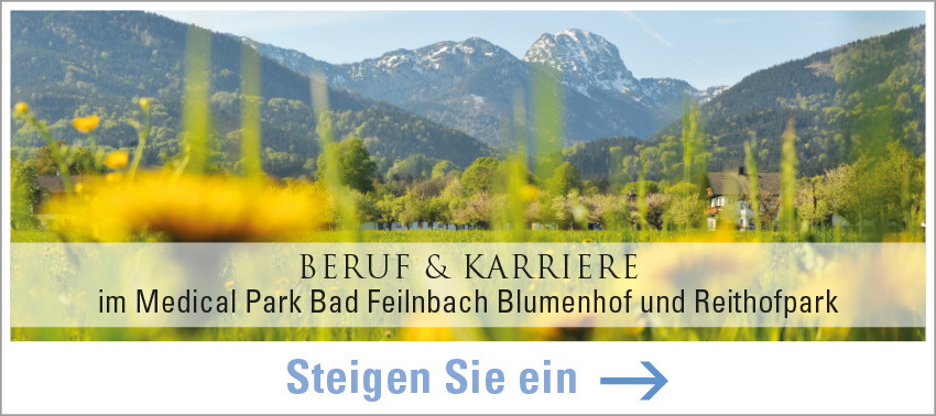 Karriere bei Medical Park in Bad Feilnbach